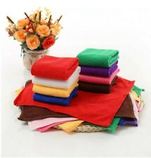 Soft Solid Color Square Microfiber Face Towel Hand Towel Cleaning Car Bathroom