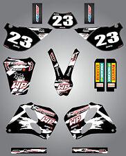 KTM SX/EXC 1993 - 1997 Full Custom Graphic Kit - SAFARI STYLE - stickers decals