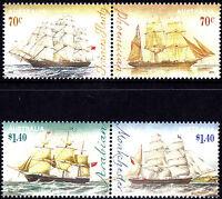 Australia 2015 Era of Sail - Clipper Ships Complete Set of Stamps Gummed, MNH