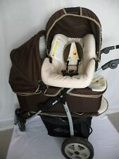 Hauck Viper Trio Set 3 in 1 Travel System - Disney Pooh Doodle Brown