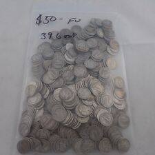 Mercury Dime Lot ~ 500 Silver Dimes ~ $50. Face Value ~ 39.6 troy oz. 90% Silver