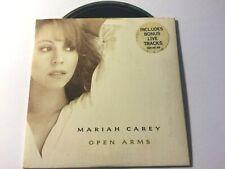 MARIAH CAREY VERY RARE AUSTRALIAN Open Arms 4 track Card Sleeve CD Single