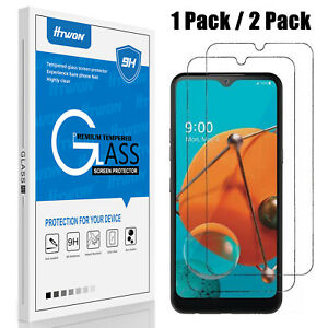 For LG K51 / Q51 / Reflect HD Premium Tempered Glass Screen Protector Film Cover