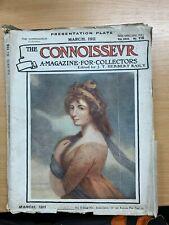 """MAR 1911 """"THE CONNOISSEUR MAGAZINE"""" ANTIQUES & ART COLLECTORS MAGAZINE (P3)"""