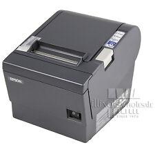 Epson TM-T88III Thermal Receipt Printer, Micros IDN Interface, Dark Grey