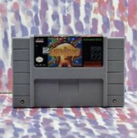Earthbound Halloween Hack SUPER NINTENDO SNES Game USA-NTSC version 16 bit