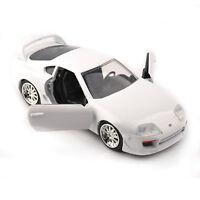 Jada 1995 Furious Seven Toyota Supra 1/32 Diecast Vehicles White Car Model Toy