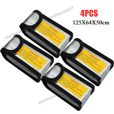 4X RC Lipo Battery Bag Guard Fireproof Explosion proof Sack Charging Safe New