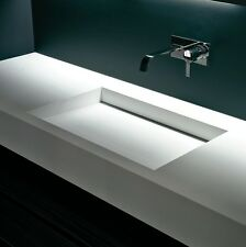Awe Inspiring Corian Sink In Home Bathroom Sinks For Sale Ebay Download Free Architecture Designs Embacsunscenecom
