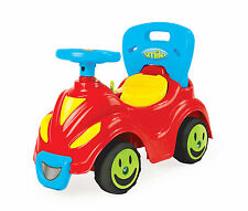 Dolu 2 in 1 Large Ride On Baby Walker Kids Car Toy Indoor Outdoor Electric Horn