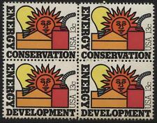 Scotts #1723-24  13c  ENERGY CONSERATION Stamp Block