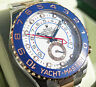 Rolex Yacht-Master II 116681 Steel & Everose Gold Blue Ceramic Bezel 44mm Watch