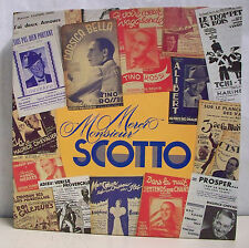 9 x 33T Coffret MERCI MONSIEUR SCOTTO LP OPERETTE et Tino ROSSI Chante SRD 382 M