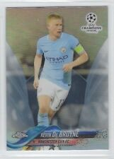 KEVIN DE BRUYNE 2017-18 Topps Chrome UEFA Champions SILVER REF #69 Manchester