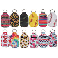 Neoprene Lipstick Holder Keychain Lip Case Storage Bag Key Chain Holder# N_N