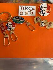 KFC Employee Pins And Keytag