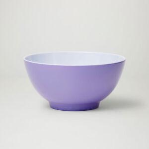 Barel Designs Classic Lavender Melamine Bowl 15cm - Picnic Bowl, Breakfast Bowl