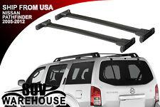 For 2005-12 Nissan Pathfinder Aluminum Roof Rack Cross Bar Luggage Carrier