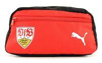 PUMA VfB Stuttgart Fanwear Wash Bag Puma Black - Puma Red Rot Schwarz Neu
