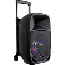 More details for pls 300w portable sound system bluetooth garden party speaker karaoke dj mic, fm