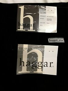 HAGGAR MENS CORD JEAN TROUSER size 34/32 Brand new