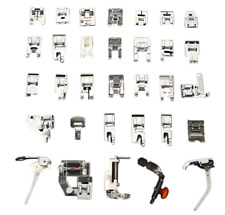 32pcs Mini Domestic Sewing Machine Kit Set With Box For Brother Singer Janome