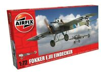 AIRFIX® 1:72 FOKKER E.III EINDECKER MODEL AIRCRAFT KIT WW2 WWII PLANE A01087