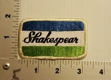 SHAKESPEAR    VINTAGE EMBROIDERED PATCH