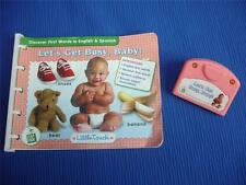 Leap Frog Little Touch Lets Get Busy Baby Book & Cartridge ~ EXCELLENT!