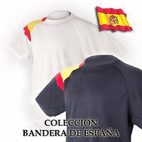 CAMISETAS TECNICAS: BANDERA DE ESPAÑA -