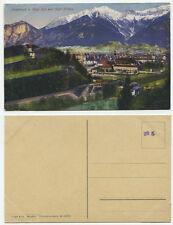 38135 - Innsbruck, Berg Isel mit Stift Wilten - alte Ansichtskarte