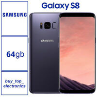 NEW Samsung Galaxy S8 SM-G950F 64GB Orchid Grey AUS STOCK Free Express Post