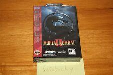 Mortal Kombat II (Sega Genesis) - NEW FACTORY SEALED MINT, RARE CLASSIC!