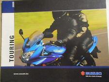 CATALOGUE MOTO : SUZUKI : GAMME TOURING 2005