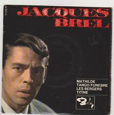 * Jacques BREL  * Mathilde *  EP 4 titres . Super 45 tr.Barclay 70635.medium