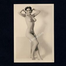 #359 RÖSSLER AKTFOTO / NUDE WOMAN STUDY * Vintage 1950s Studio Photo - no PC !
