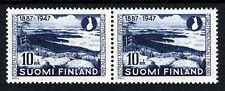 Finlandia 1947 60th. ANNIVERSARIO della società turistica UNA COPPIA SG 275 Gomma integra, non linguellato
