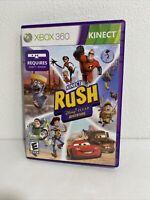 Kinect Rush Disney Pixar Adventure - Microsoft XBox 360 Platformer Video Game