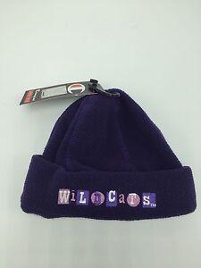 WILDCATS Baby Purple Newborn Fleece Stocking Cap Hat Baby Shower Baby Gift