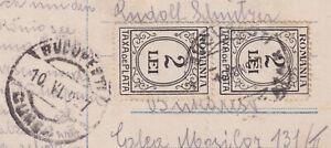 GERMANY BERCHTESGARDEN KÖNIGSEE KREBS PHOTO POSTCARD TO ROMANIA POSTAGE DUE 1927