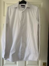 Mens Next Slim Fit Shirt Collar 15""