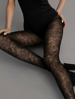 FIORE Lily-Rose Luxury 30 Denier Super Fine Decorative 3D Patterned Tights