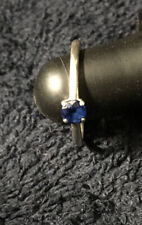 Tiffany & Co Sapphire Platinum Size 6 Ring