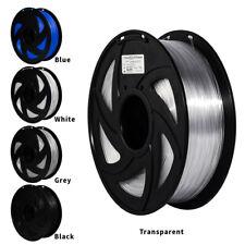 More details for 3d printer filament 1.75mm 1kg pla petg consumables multicolor black clear blue