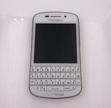 Blackberry Q10 Verizon- Gsm Unlocked Phone - White - Good + Chrger