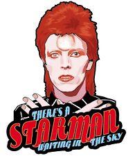 David Bowie Starman Car Windscreen Sticker