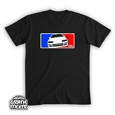 Honda CRX EE8 EF8 Major League T-Shirt inkl Gratis Sticker TypeR Coupe JDM