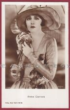 BEBE DANIELS 09 ATTRICE ACTRESS CINEMA MOVIE STAR CAPPELLO - HAT Cartolina FOT.