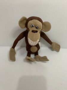 "Madagascar Escape 2 Africa Monkey Plush Stuffed Animal 2008 Dreamworks 8"""
