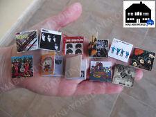 Miniature 1/12 record Album Collection Beatles. Artisan. MAE Mini World